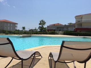 Appartement 4/5pers plage piscine terrasse clim, Juan-les-Pins