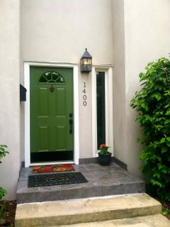 The front entrance to East Jackson Guest House