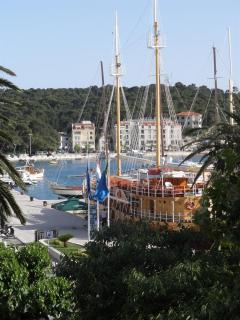 view to harbor