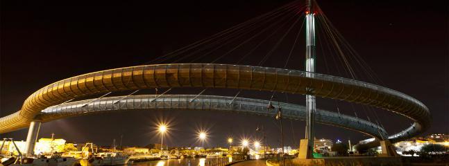 Ponte del Mare; New conception architectural bridge (Ponte ciclabile sul fiume Pescara)