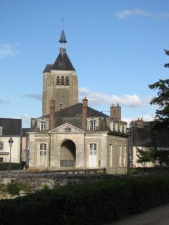 l'église de Châteauneuf sur Loire