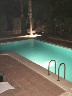 swimming at nite