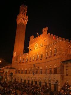Palazzo comunale città di Siena