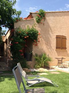 Beautiful summer garden ideal for entertaining and relaxing ....