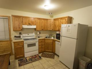 Trout Lake Cabin 128 - 3 Bedroom, 2.5 Bath in West Yellowstone, Cozy Living Room