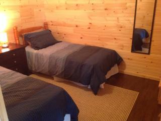 Wooden Cabin on Nova Scotian Haskap Orchard, Bridgewater