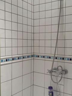 Common bathroom - standing shower