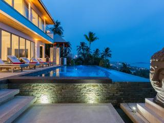 Jaliza, Luxury 6 Bedroom Chaweng Villa, with stunning Ocean Views