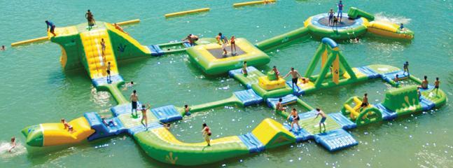 Nouveau Splash Park lac de Hourtin et Lacanau
