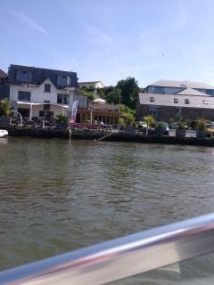 The Crabshell Inn, on the waterside, 3.5 miles away