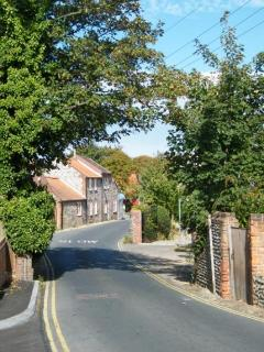 Fireman's Cottage is located on this lovely street in Mundesley