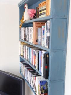 Loads of books and DVd's
