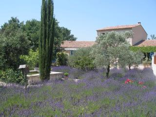 Clos des lavandes-charming room 2 people-Terrace, Lacoste