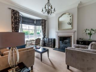 The lounge area. Tastefully presented throughout