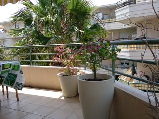 Between sea and forest, in a nice secured residence, very nice 2 rooms apartment