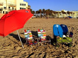 Surf Passage Beach Kit (Boogie Boards, Beach Chairs, Umbrella, Sand Toys and Volleyball)