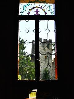 View on Este's castle