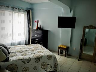 Master with Queen bed and flat screen TV