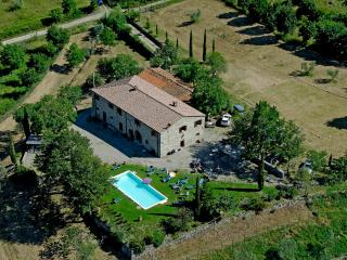 Typical Tuscan villa with wonderful views