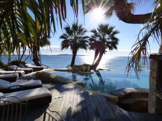 Villa 12pers./plage privée/2 piscines/sauna/hammam