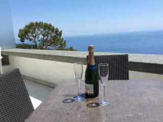 Cap dAil Holiday Apartment with Balcony & sea view, Cap D'Ail
