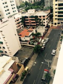 vista de dia desde el balcon del apartamento