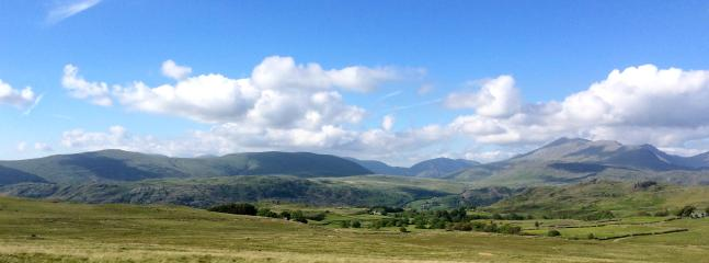 Two minutes from Oakbank is dramatic Birker Fell