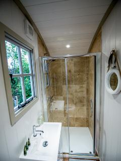 Luxury bathroom and complimentary eco toiletries