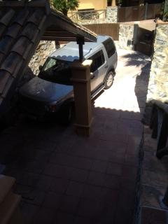 Carport, enough space for 2 cars, electric gated entrance
