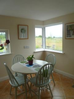 Kitchen with views of Lough Derravaragh
