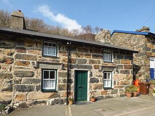 PEN Y BONT, terraced, Grade II listed, woodburners, garden, in Beddgelert, Ref 922358
