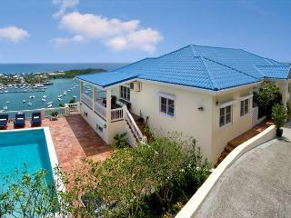 Overlooking captivating Oyster Pond and Dawn Beach, St. Maarten-St. Martin