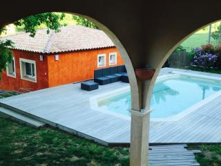 L'arche en Provence, gîte 7 personnes avec piscine, La Crau