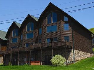 Marvelous 4 Bedroom Premiere townhome with hot tub & ski slope views!, McHenry