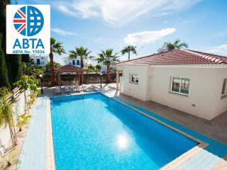 Oceanview Villa 160 - spacious pool - outside area, Ayia Napa