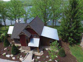 Newly built 4 bedroom home with phenomenal lakefront!
