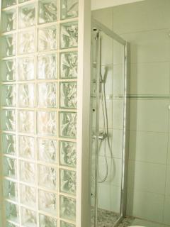 Shower on first floor.