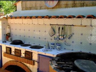 cucina all'aperto