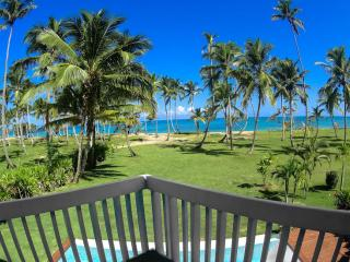 Unique place,directly on the beach,corner paradise, Las Terrenas