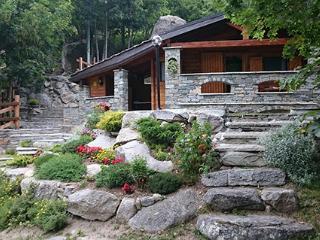 Chalet in legno e pietra a Ceresole Reale 1600 mt