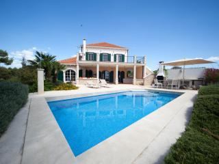 Two lux villa with a swimming pool in Brac for 11p, Sutivan