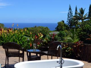 Ocean View cottage,  Pool, Organic, Child Friendly