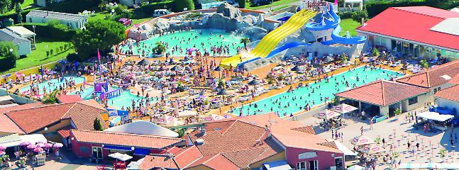 Vue aérienne de la Fun Zone