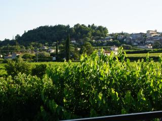 Maison en pierre, hameau de Garidel, Saint-Julien-de-Peyrolas