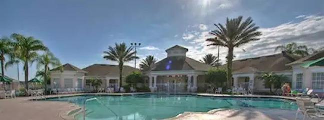 Windsor Palms Resort's large community pool.