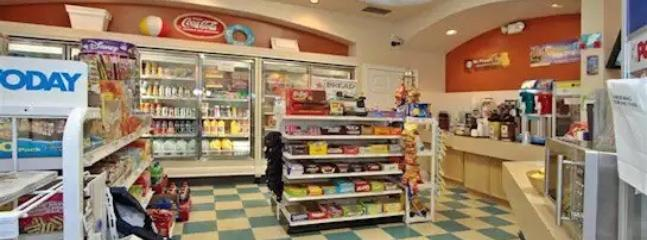 The Windsor Palms Resort just expanded the grocery store.  It's located in the community center.