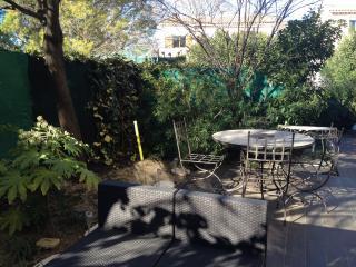 appartement terrasse et jardin, près du centre, Montpellier