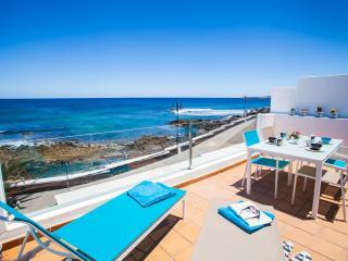 Habitaciones al mar, costa norte de Lanzarote, Arrieta