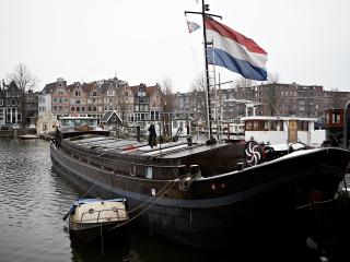 stylish houseboat in amsterdam center, own entrance