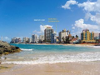 Oceanfront Condo next to Marriott Hotel Condado